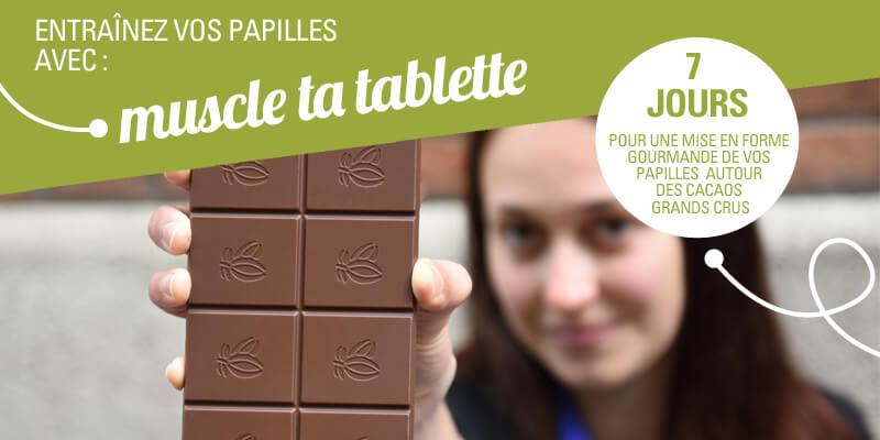 Entrainement à la dégustation de chocolats grands crus équitables et bio