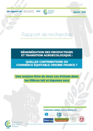 etude commerce équitable France