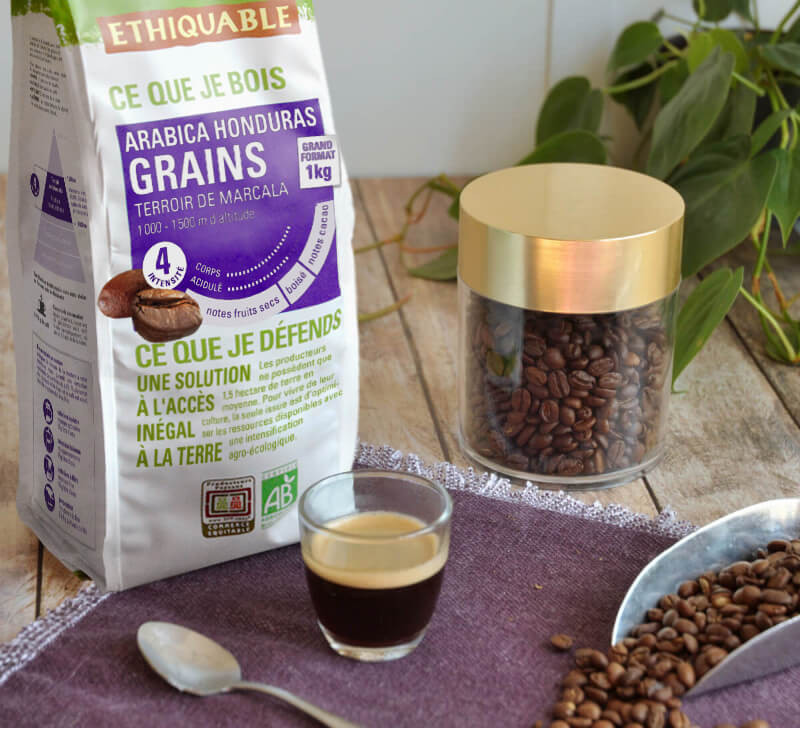 cafe-grains-honduras-equitable-bio ethiquable
