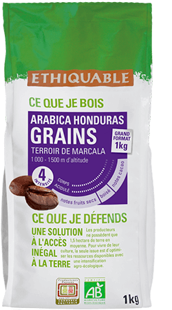 cafe grains Honduras equitable bio