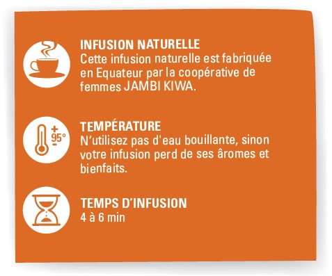 infusion orange cannelle ethiquable