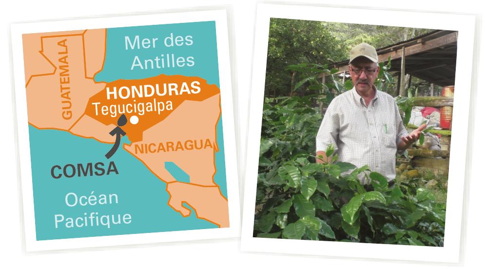 carte café Honduras equitable bio