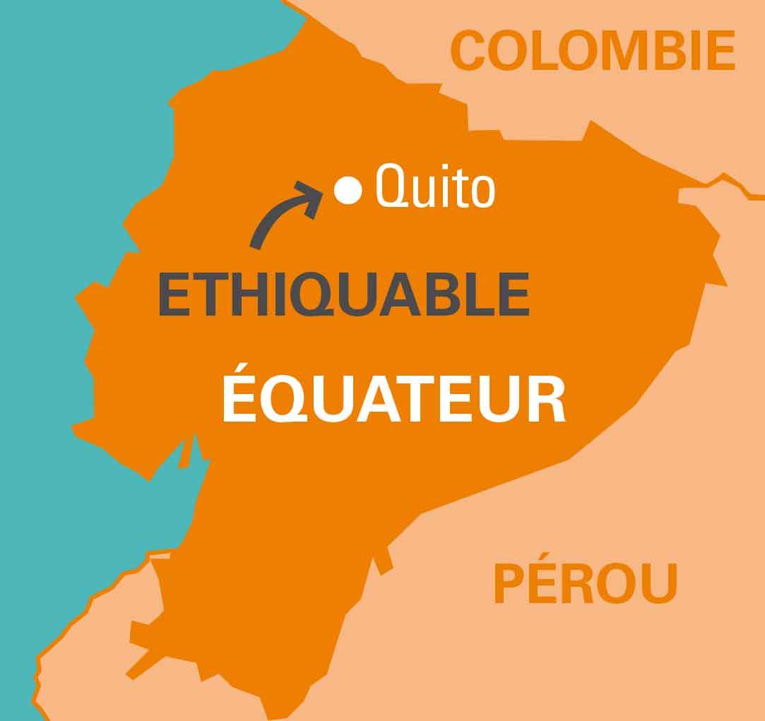 carte ethiquable en equateur
