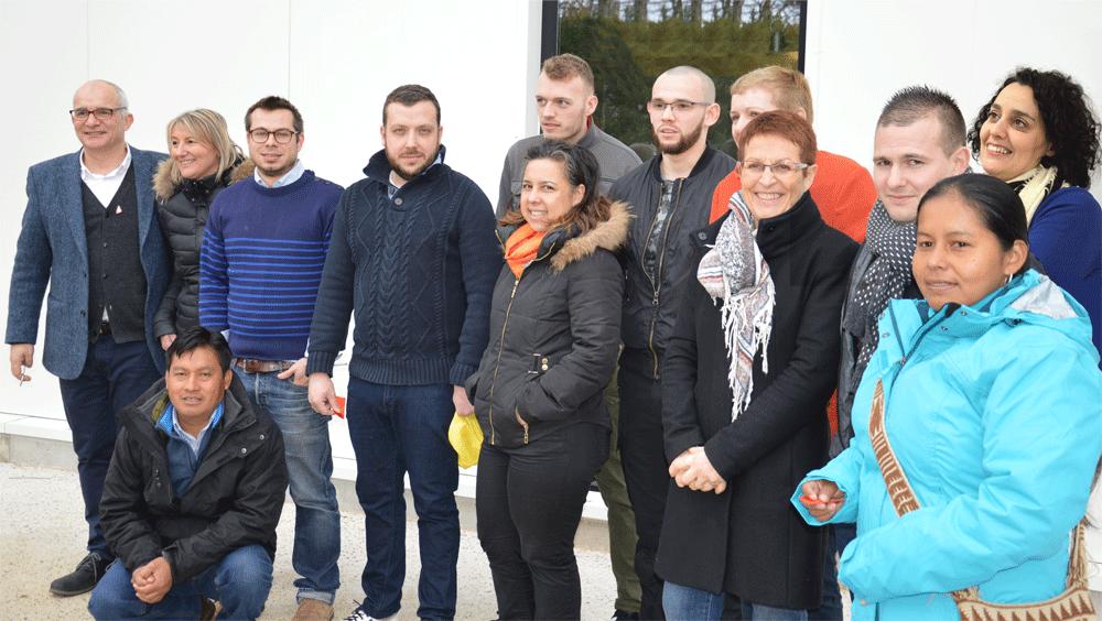L'équipe de la SCOP Café Michel