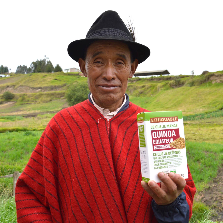 quinoa équateur bio equitable