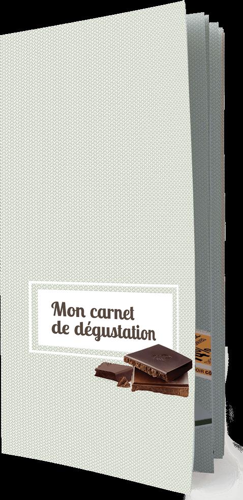 Ethiquable carnet de dégustation chocolat équitable bio