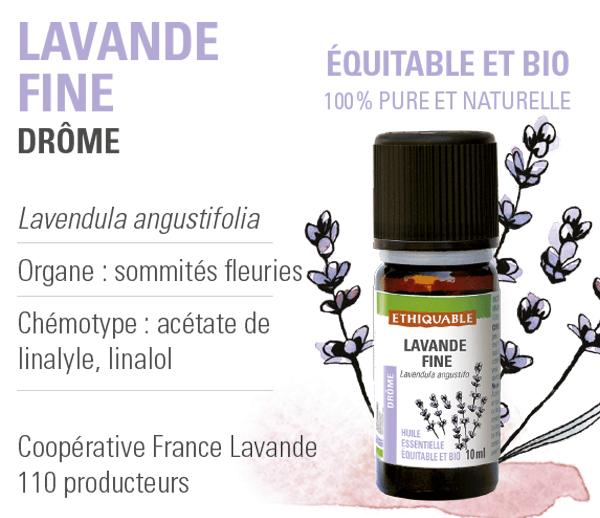 huile-essentielle - lavande fine -equitable-bio-ethiquable