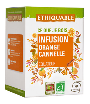 Infusion orange cannelle