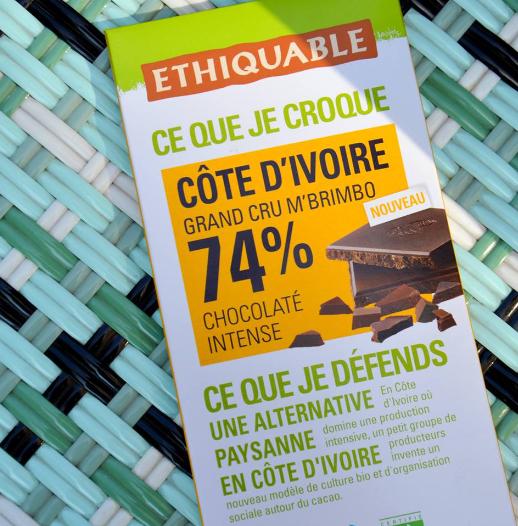 noir 74% ethiquable chocolat equitable bio