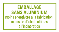 emballage sans aluminium