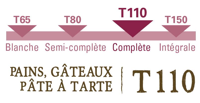 farine complète petit épeautre T110