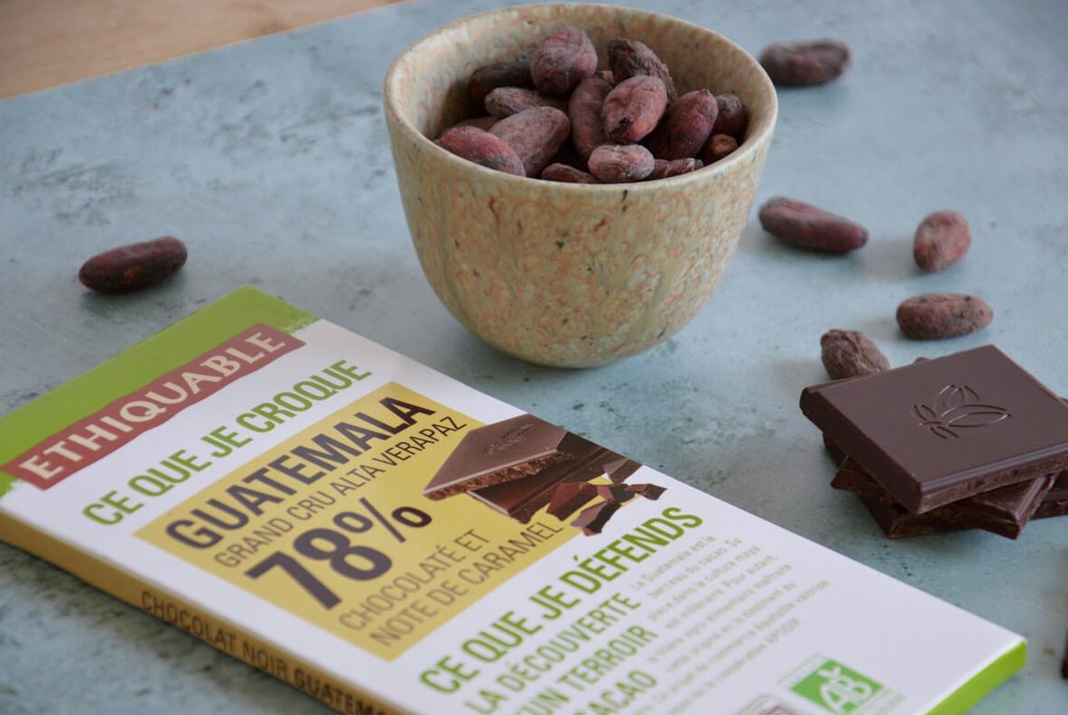 guatemala 78 chocolat noir bio equitable