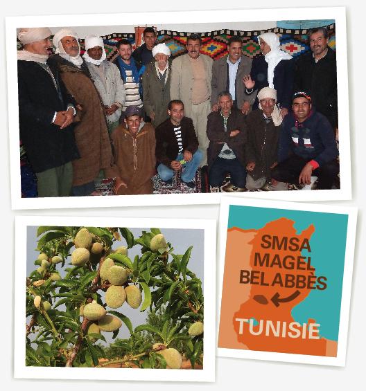 Ethiquable SMSA magel bel Abes Tunisie amande bio commerce équitable