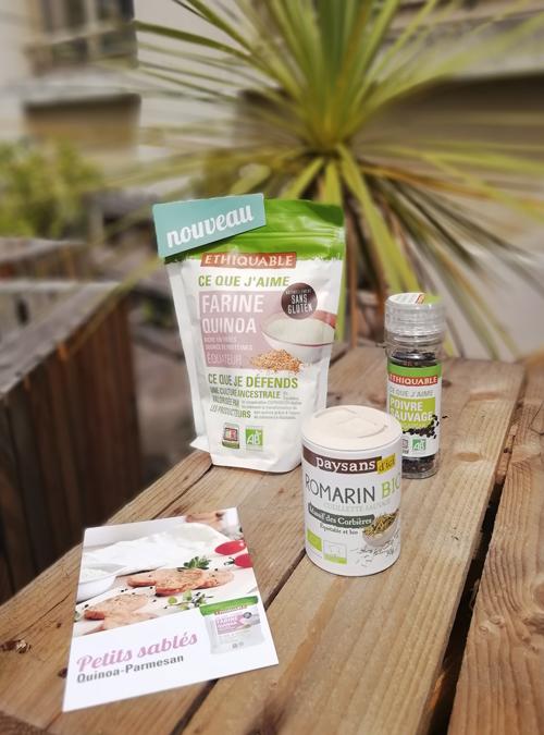 kit recette farine équitable bio quinoa
