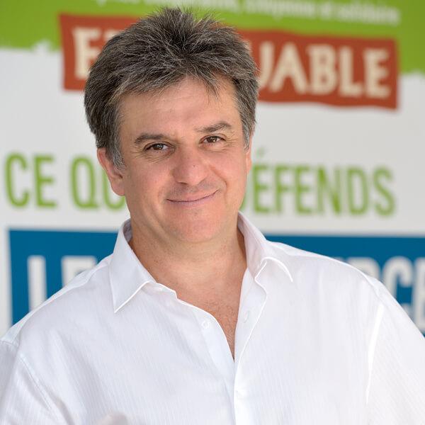 Rémi Roux co-fondateur d'Ethiquable