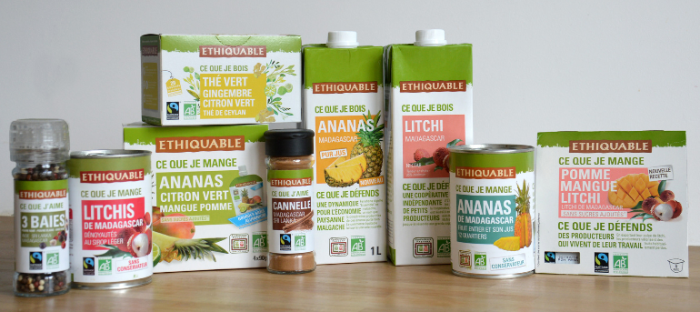 produits équitables bio madagascar FANOHANA ETHIQUABLE