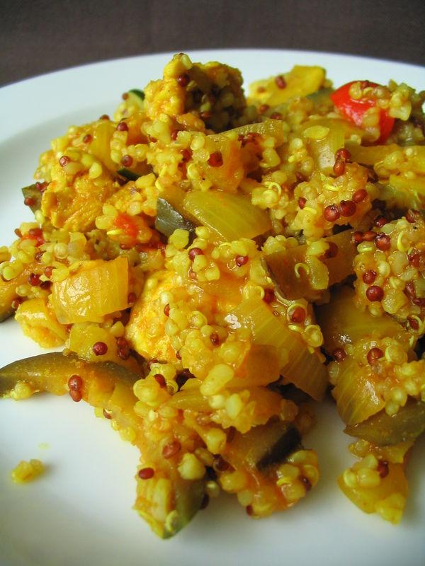 recette de legumes chaud