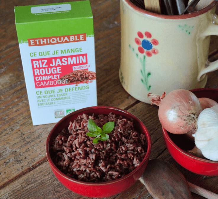 riz rouge complet ethiquable