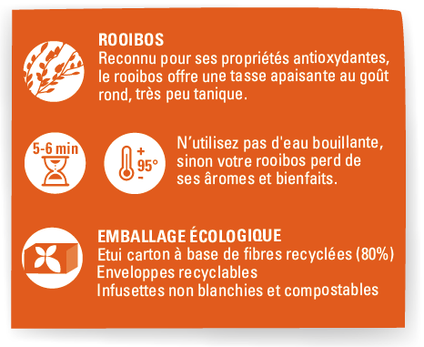 rooibos vanille cannelle ethiquable bio equitable