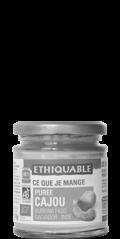 ethiquable puree de cajou commerce equitable biologique