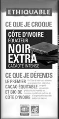 noir extra ethiquable bio commerce équitable