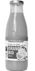 orange pur jus bio equitable ethiquable