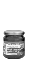 pate tartiner cajou ethiquable bio equitable