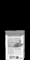 duo quinoa rouge blanc équitable & bio ethiquable