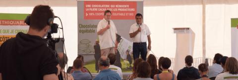 inauguration chocolaterie ethiquable santiago paz norandino