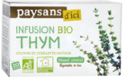 paysans d ici infusion thym equitable en france bio