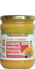 bocal ananas mangue passion ethiquable bio équitable