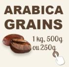 café arabica en grains bio et équitable