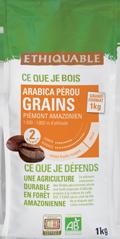 çafé arabica Pérou Grain 1kg ethiquable bio commerce équitableff