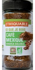 café Mexique soluble équitable bio ethiquable majomut
