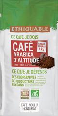 café arabica Honduras moulu 1kg ethiquable bio commerce équitablef