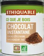 chocolat en poudre instantan quitable bio ethiquable. Black Bedroom Furniture Sets. Home Design Ideas