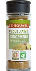 gingembre bio equitable ethiquable