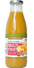 multi fruits pur jus bio equitable ethiquable
