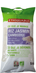 riz jasmin cambodge bio equitable ethiquable 5 kg rhf
