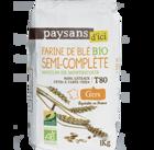 t80 farine ble semi complete bio equitable paysans d ici