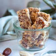 Barres granola cajou et chocolat