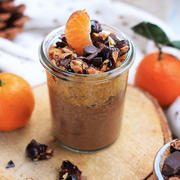 crème cacao cru et crupote de clémentine