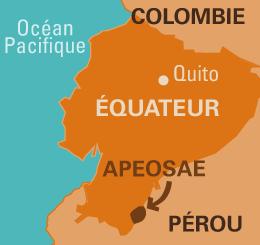 carte apeosae équateur