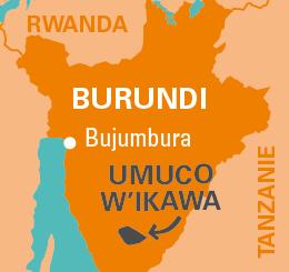 carte UMUCO W'IKAWA - Commerce équitable au Burundi
