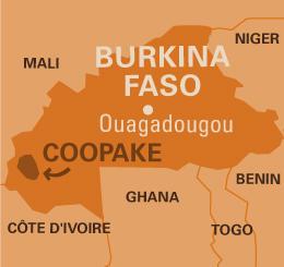 CARTE COOPAKE BURKINA FASO
