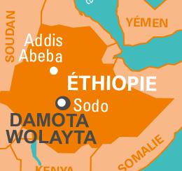 carte ethiopie damota