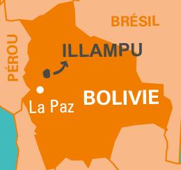 carte illampu Bolivie café équitable bio