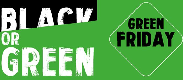 Avec le Green Friday, on dit STOP au Black Friday | Ethiquable