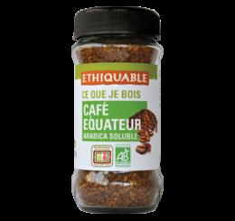 Café Soluble Pur origine Equateur équitable & bio ETHIQUABLE