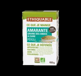 amaranthe équitable & bio ethiquable